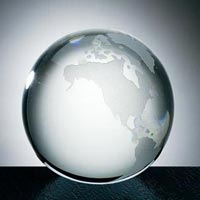 Transparent Acrylic Paperweight