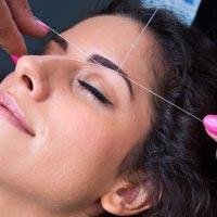 Ladies Eyebrow Threading Services
