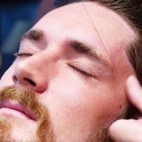 Mens Eyebrow Threading Services