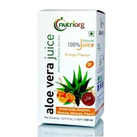 Orange Flavour Aloe Vera Juice 01
