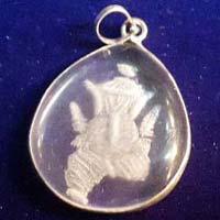 Crystal Ganesh Pendant
