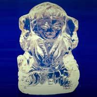 Crystal Lakshmi Statue