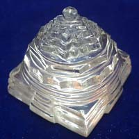 Crystal Meru Shree Yantra