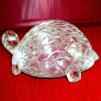 Crystal Turtle Statue