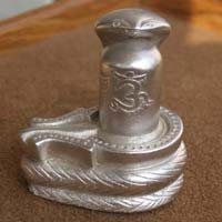 Mercury Shivling with Snake