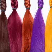Hair Coloured Extensions