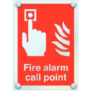 Acrylic Fire Alarm Call Point Signage