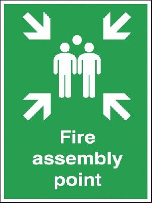Fire Assembly Point Signage