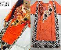 Ladies Cotton Kurti (538)