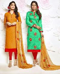 Ladies Churidar Suit 01