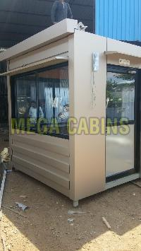 Portable Security Guard Cabin 12