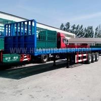2/3 Axle Flatbed Semi Trailer