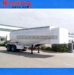 2 axle powder tanker semi trailer
