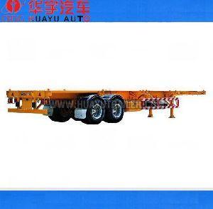 20FT container skeleton semi trailer