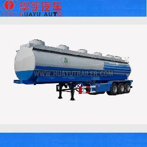 3 axle 50m3  gasoline tanker semi trailer