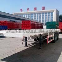3 Axle Flatbed Semi Trailer (40Ft)