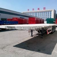 3 Axle Heavy Duty Tipper Semi Trailer (13M)