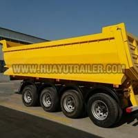 4-Axle Dump Semi Trailer