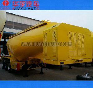 bulk powder tanker semi trailer