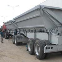 Dump Trailer Side Wall Train