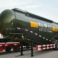 Three Axle Heavy Bulk Powder Material Cement Tanker