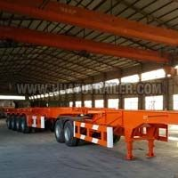 Hot Sale Step Wise Type Three Axle Semi Trailer with Side Wall