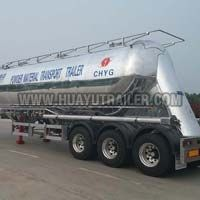 Powder Material Transport Bulk Cement Semi Trailer