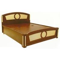Wooden Bed (B.B. - 1085 WG)