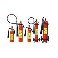 CO2 Gas Type Fire Extinguisher