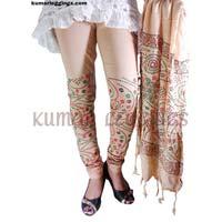 Block Printed Leggings & Dupatta 03