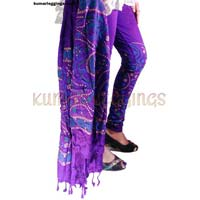 Block Printed Leggings & Dupatta 04