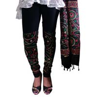 Block Printed Leggings & Dupatta