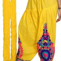 Embroidered Patiala Salwar 05