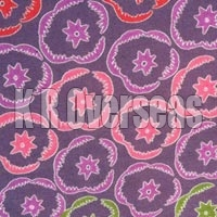 Iromono Chinese Grape Printed Cotton Fabric