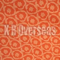 Iromono Orange Printed Cotton Fabric