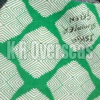 Iskia Summer Green Printed Cotton Fabric