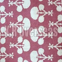 Mahavi London Pink Printed Cotton Fabric