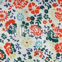 Zadie Natural Printed Cotton Fabric