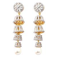 American Diamond Earrings (wje125a)