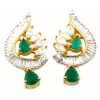 American Diamond Earrings (wje69)