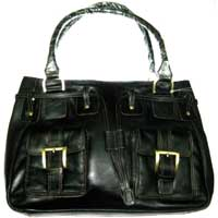 Leather Ladies Handbag (LLH 001)