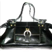 Leather Ladies Handbag (LLH 002)