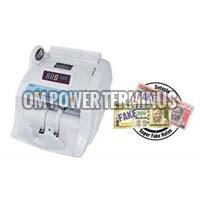 Cash Counting Machine With Fake Note Detector