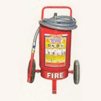 Trolley Mounted Fire Extinguisher (25 kg)