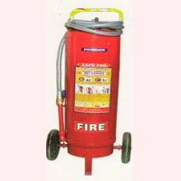 Trolley Mounted Fire Extinguisher (50 kg)