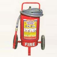 Trolley Mounted Fire Extinguishers