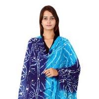 Bandhani Blue Firoji