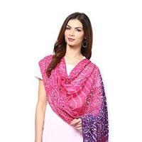 Bandhani Pink Purple