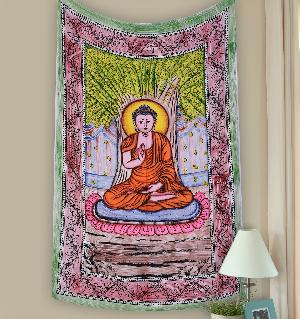 Indian Mandala Tapestrie 01