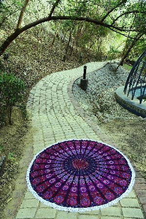 Indian Mandala Tapestrie 05